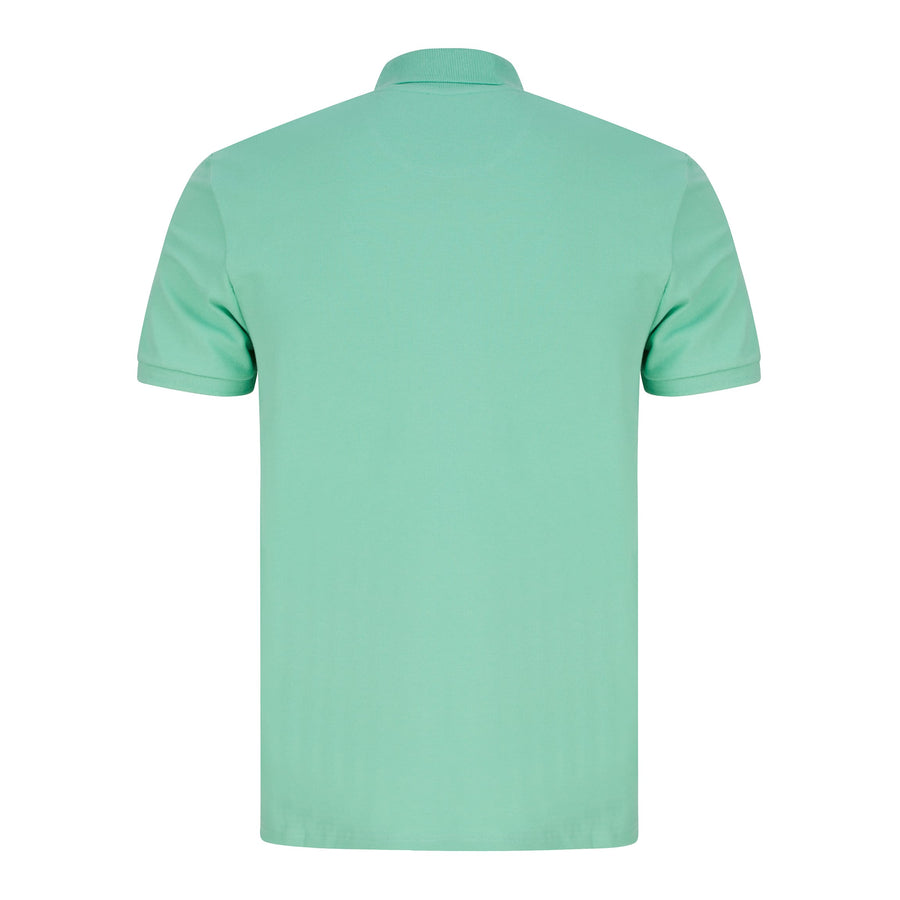 LYLE & SCOTT LOGO BRANDED POLO SP400VOG SEA MINT (W322) ML420VTR - Sea Mint (W322)