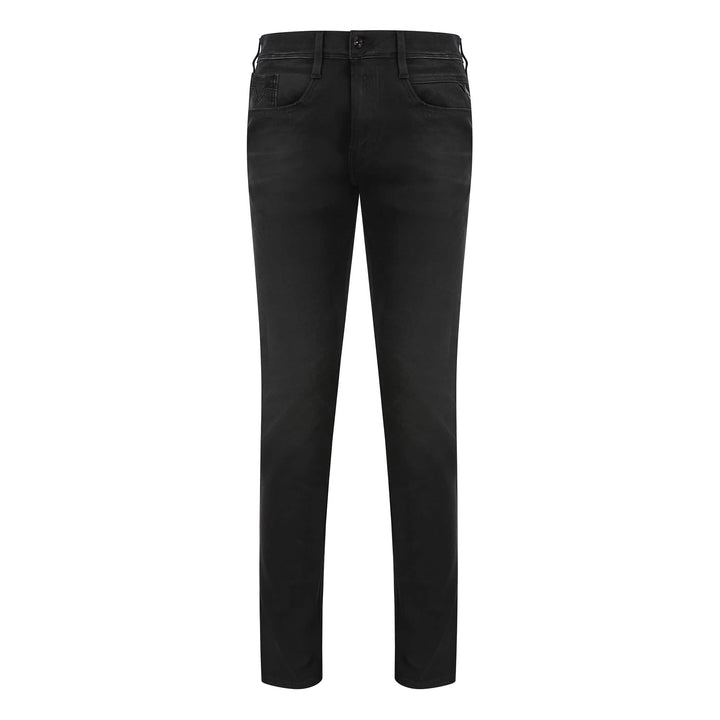 REPLAY ANBASS HYPERFLEX + 5 POCKET JEAN M914 - 661 S04 007 WASHED BLACK