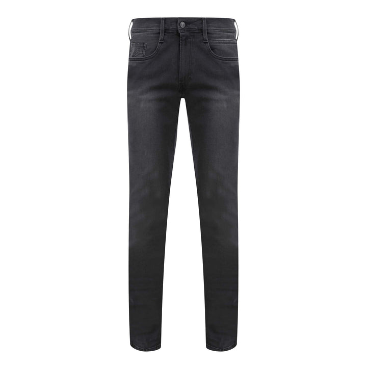 REPLAY ANBASS HYPERFLEX 5 POCKET JEAN M914 - 661 01G 009 STEEL GREY