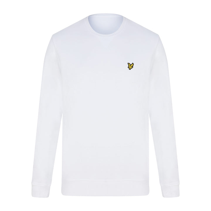 LYLE & SCOTT LOGO BRANDED JUMPER ML424VTR WHITE (626) ML424VTR - White (626)