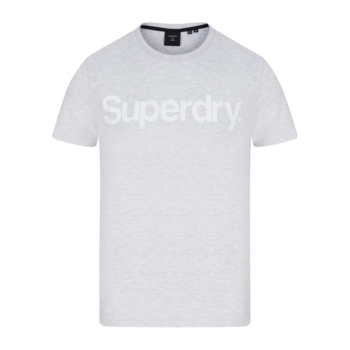 SUPERDRY CORE LOGO T-SHIRT M1010248A - Ice Marl (54G)