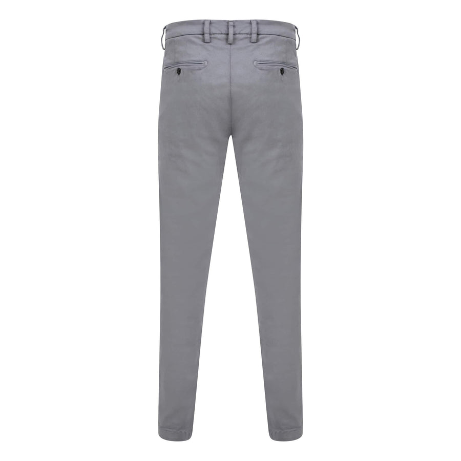 REPLAY SLANT POCKET HYPERFLEX CHINO M9627L.8166197.140 DARK GREY