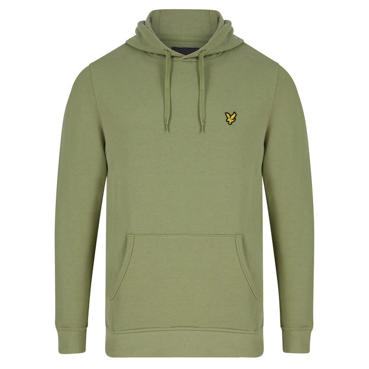 LYLE & SCOTT PULLOVER HOODIE ML416VTR - Moss Green (W321)