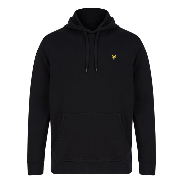 LYLE & SCOTT PULLOVER HOODIE ML416VTR - Jet Black (Z865)