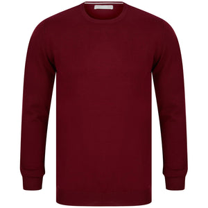SSEINSE GIROCOLLO FITTED JUMPER MI1619SS RED (BO)