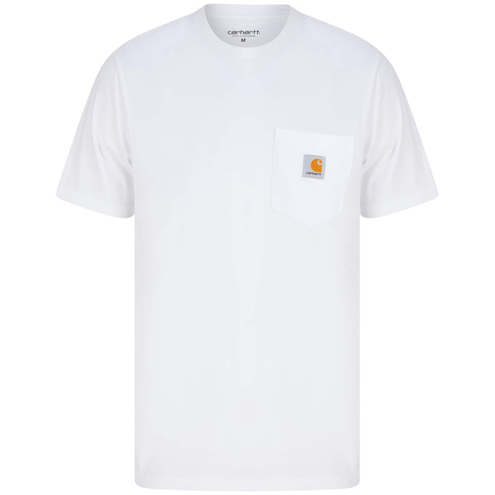 CARHARTT POCKET T-SHIRT I022091 - WHITE