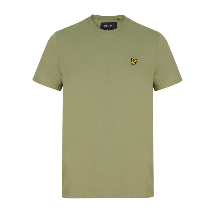 LYLE & SCOTT LOGO BRANDED T-SHIRT TS400VOG MOSS GREEN (W321)