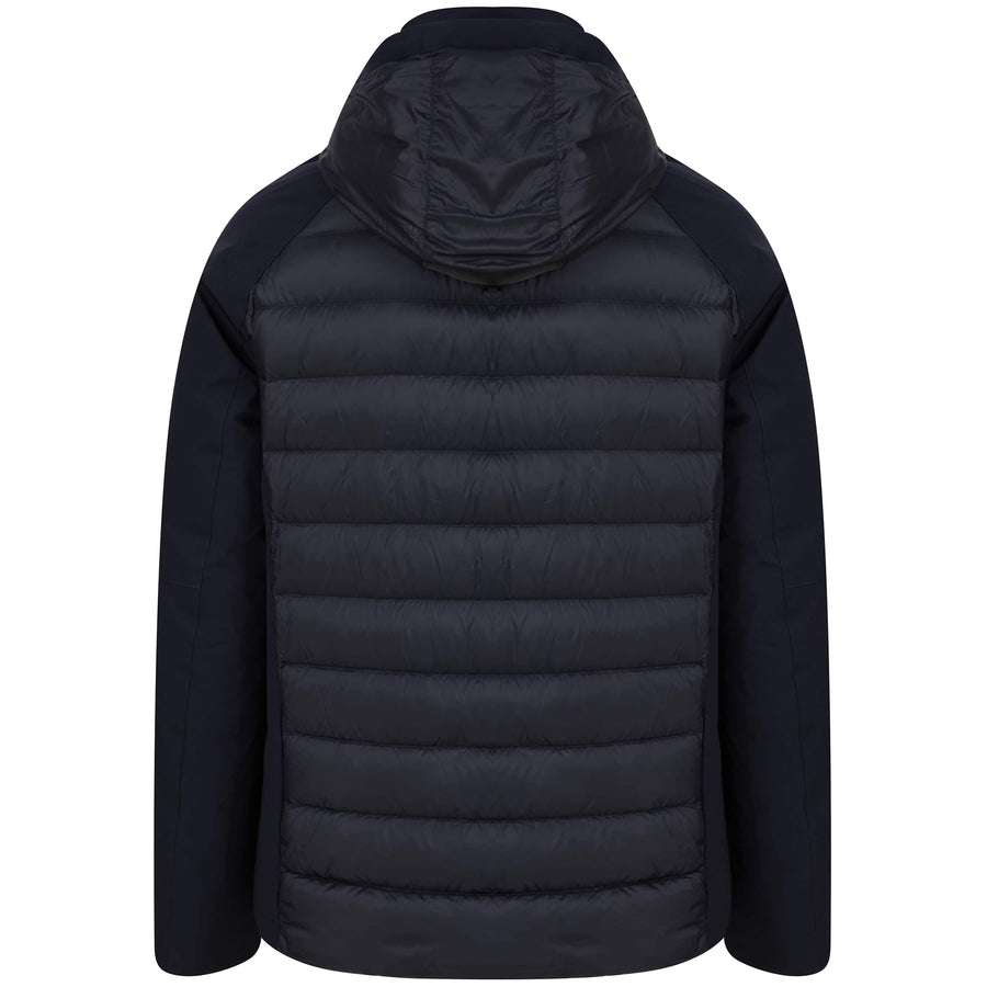HETREGO L/S DAVID FITTED BOMBER DAVID NAVY