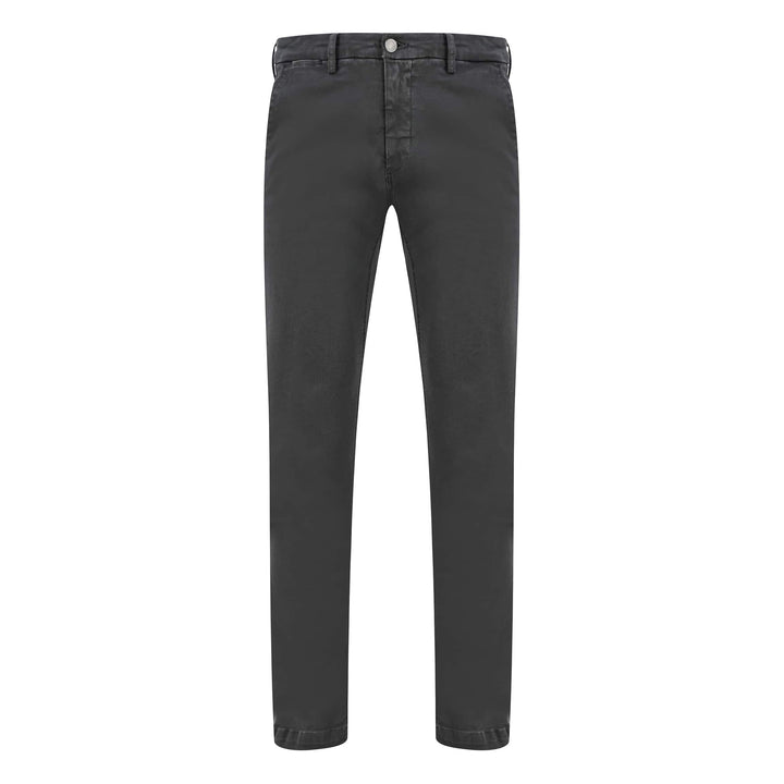 REPLAY SLANT POCKET HYPERFLEX CHINO M9627L.8166197.290 CHARCOAL