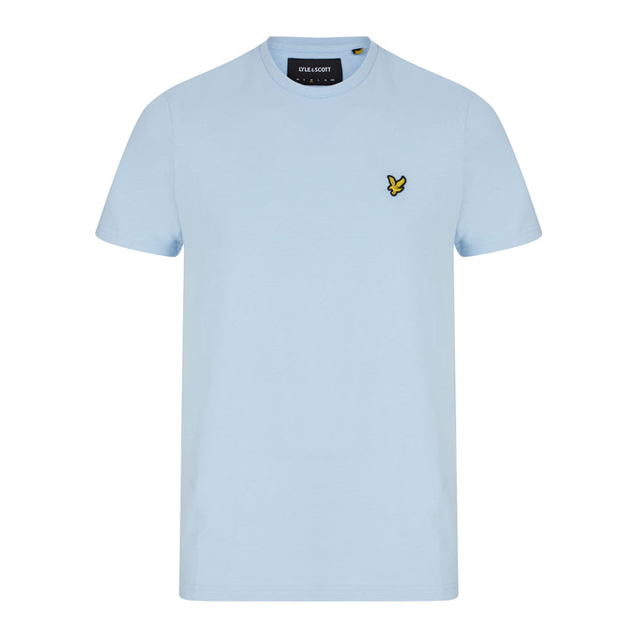 LYLE & SCOTT S/S LOGO BRANDED T-SHIRT TS400V POOL BLUE (Z800) TS400V - Pool Blue (Z800)