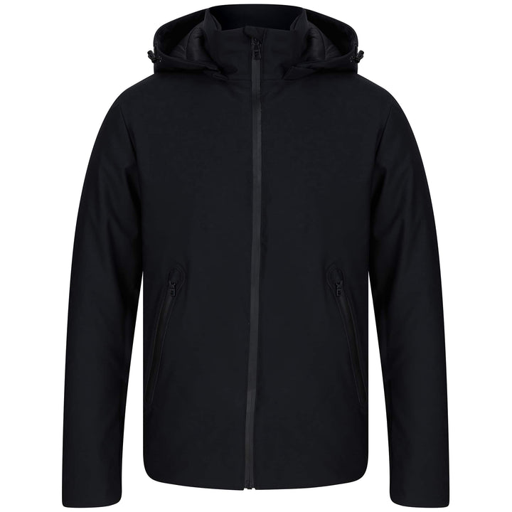 SSEINSE L/S GIUBBINO HOODED FITTED JACKET MI1685SS BLACK (NE)