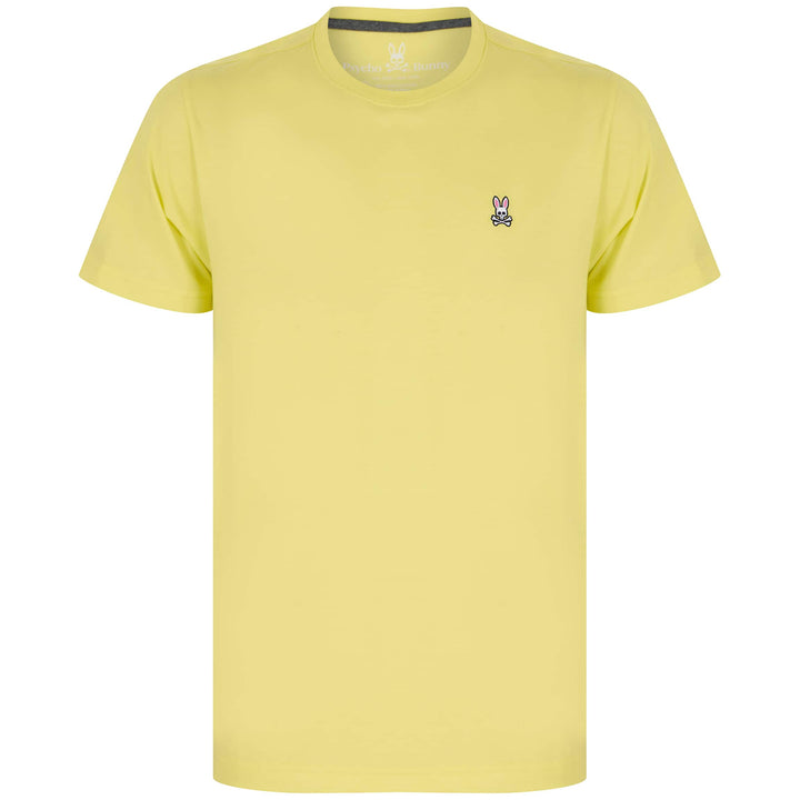 PSYCHO BUNNY CLASSIC T-SHIRT B6U014N1PC - Lemon Tonic (731)