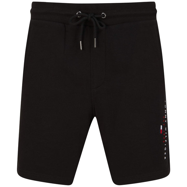 TOMMY HILFIGER ESSENTIAL SWEAT SHORTS MW0MW17401 - Black (BDS)