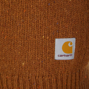 CARHARTT L/S ANGLISITIC SWEATER I010977 BRANDY HEATHER Media 1 of 3