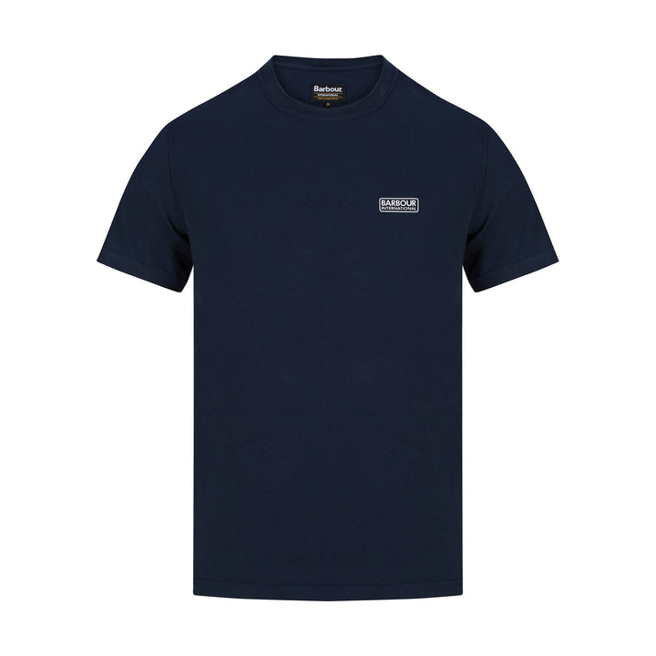 BARBOUR INTERNATIONAL SMALL LOGO T-SHIRT MTS0141 - International Navy (NY39)