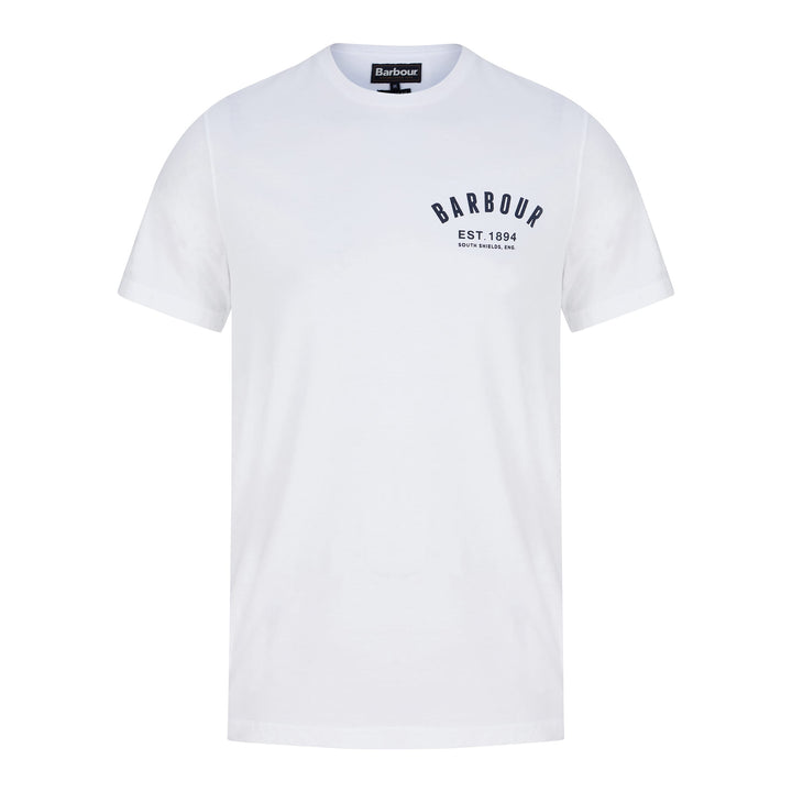 BARBOUR PREPPY T-SHIRT MTS0502 - White (WH11)
