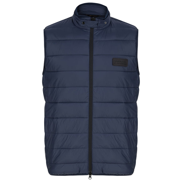 BARBOUR INTERNATIONAL MARCUS GILET MGI0087 - Navy (NY71)