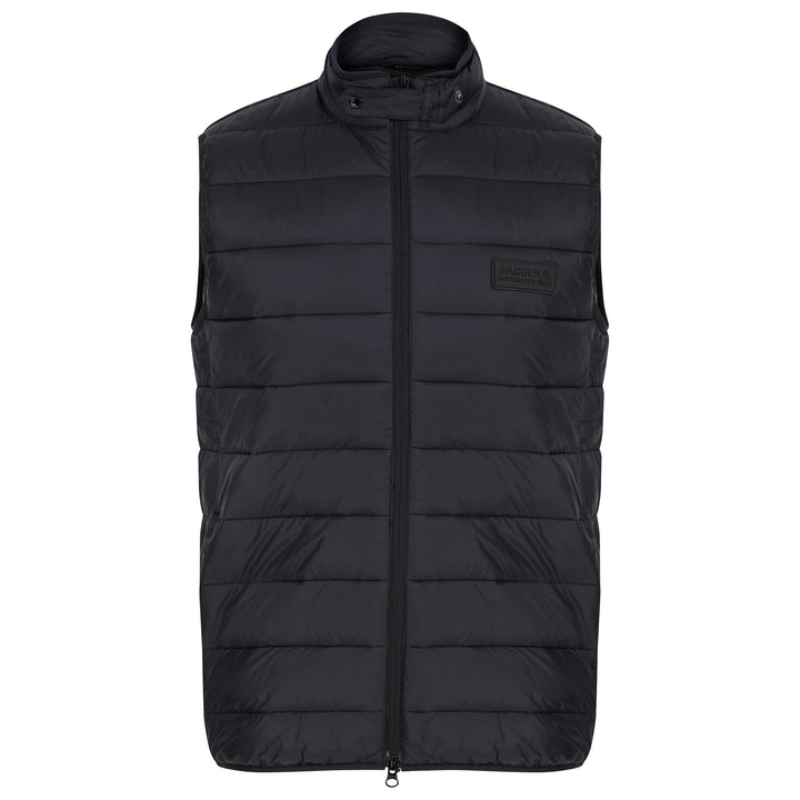 BARBOUR INTERNATIONAL MARCUS GILET MGI0087 - Black (BK11)