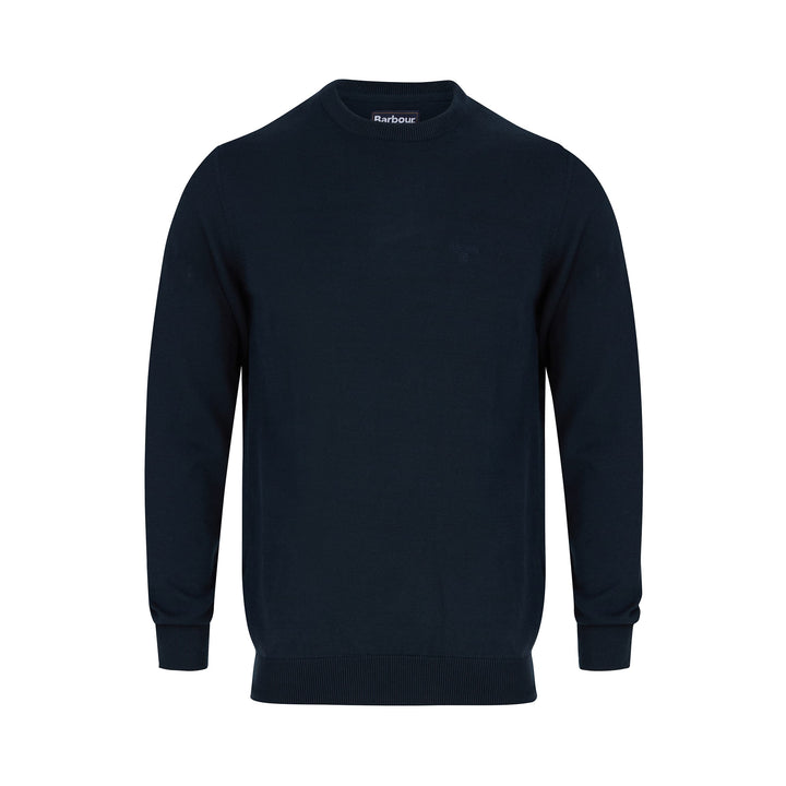 BARBOUR PIMA COTTON KNIT JUMPER MKN0932 - Navy (NY91)