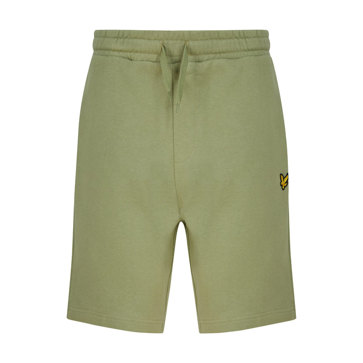 LYLE & SCOTT SWEAT SHORTS ML414VTR - Moss Green (W321)