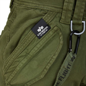 ALPHA INDUSTRIES UTILITY PANT 128202 DARK OLIVE