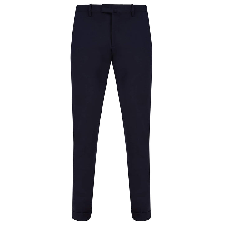 BRIGLIA SLANT POCKET JERSEY FITTED TROUSER BG03P NAVY