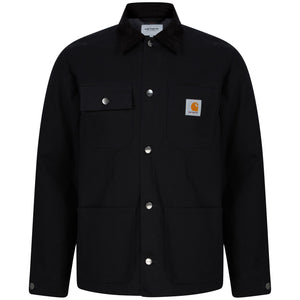 CARHARTT L/S MICHIGAN COAT I028425 BLACK RIGID