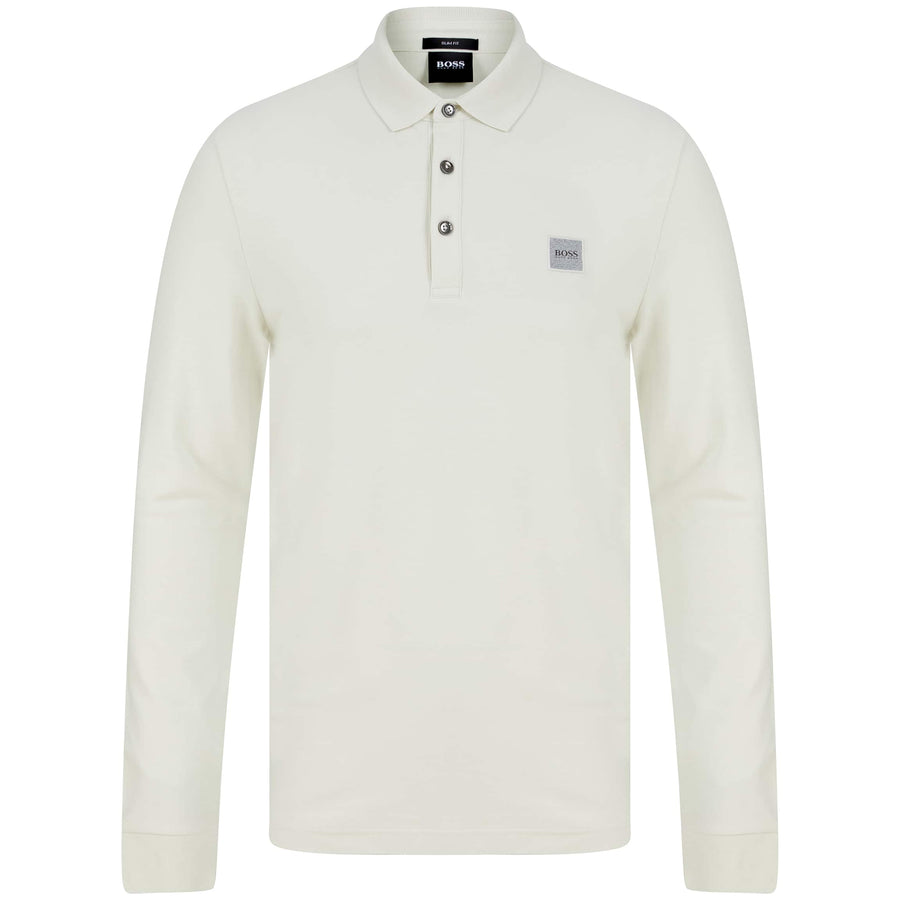 BOSS PASSERBY POLO SHIRT 50387465 LIGHT BEIGE (270)