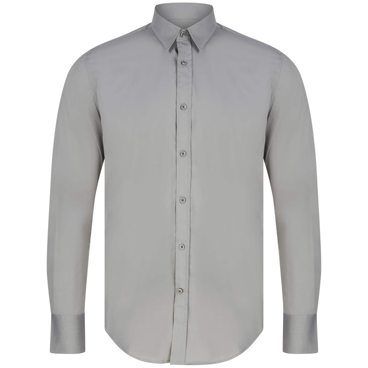 ANTONY MORATO SUPER SLIM FITTED SHIRT MMSL00375/FA450001 ANTHRACITE (9016)