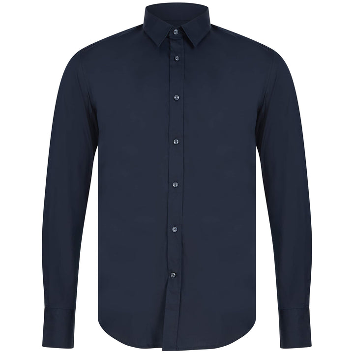 ANTONY MORATO SUPER SLIM FITTED SHIRT MMSL00375-FA450001 DEEP BLUE (7043)