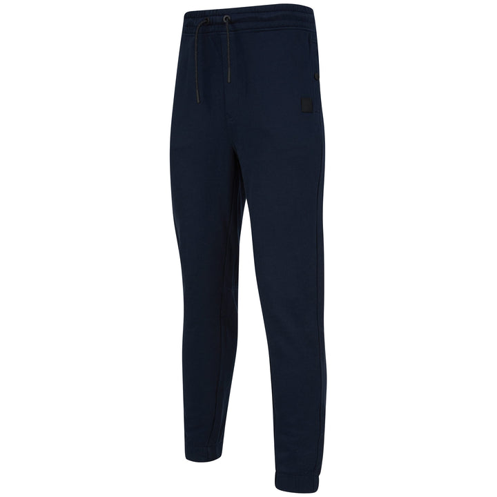 HUGO BOSS DRAWSTRING SKYMAN 1 LOGO BRANDED JOGGER 50426793 DARK BLUE (404)