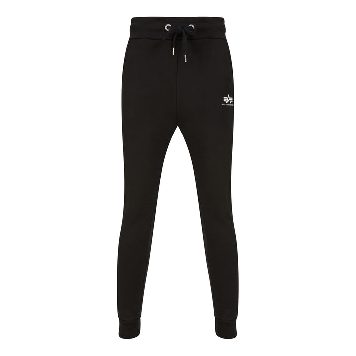 ALPHA INDUSTRIES BASIC SMALL LOGO JOGGERS 116370 BLACK 03