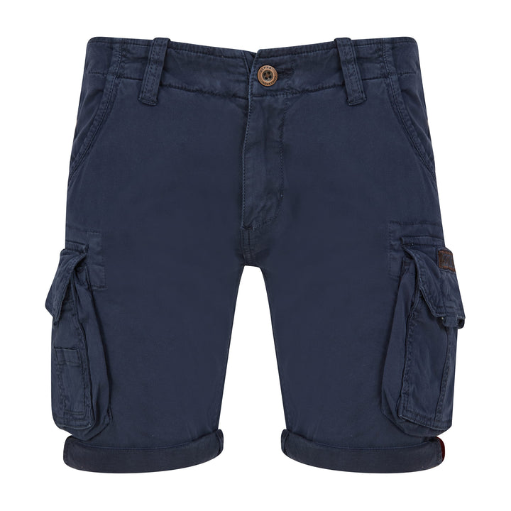 ALPHA INDUSTRIES CREW CARGO SHORTS 176203B REP BLUE 07