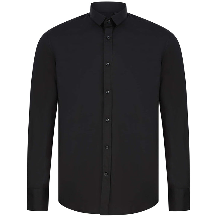 ANTONY MORATO SUPER SLIM FITTED SHIRT MMSL00627-FA450010 BLACK (9000)