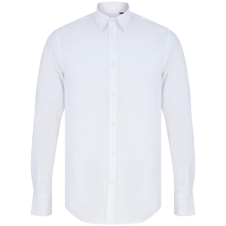 ANTONY MORATO SUPER SLIM FITTED SHIRT MMSL00627-FA450010 WHITE (1000)