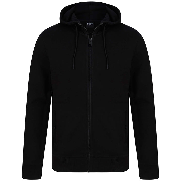 BOSS ZOUNDS 1 LOGO BRANDED HOODY 50426651 BLACK (001)