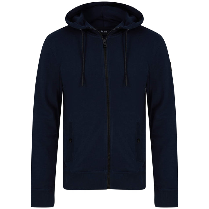 BOSS ZOUNDS 1 LOGO BRANDED HOODY 50426651 DARK BLUE (404)