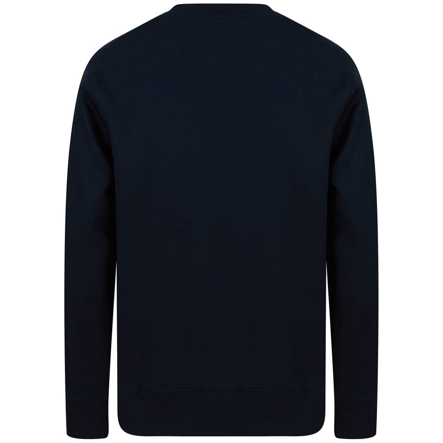 J LINDEBERG CHIP CREW NECK JUMPER FMJS03243 JL NAVY