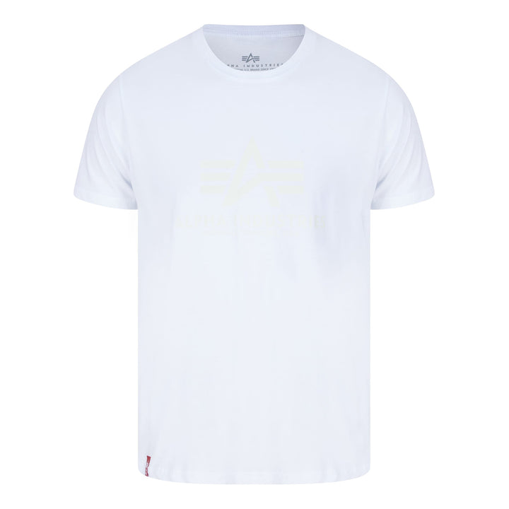 ALPHA INDUSTRIES KRYPTONITE T-SHIRT 116521 WHITE 09