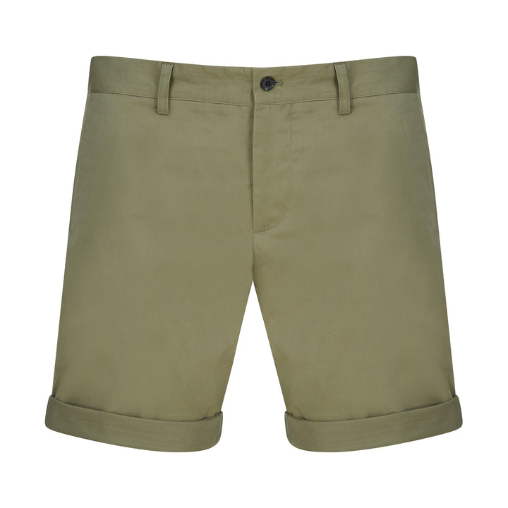 J LINDEBERG NATHAN SATIN CHINO SHORTS FMPA03580 LAKE GREEN M375