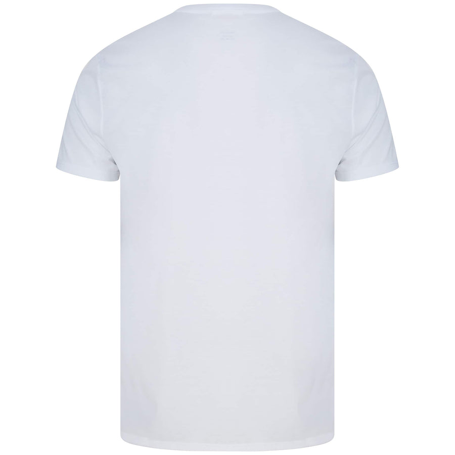 LACOSTE S/S LOGO BRANDED T-SHIRT TH6709-00 WHITE