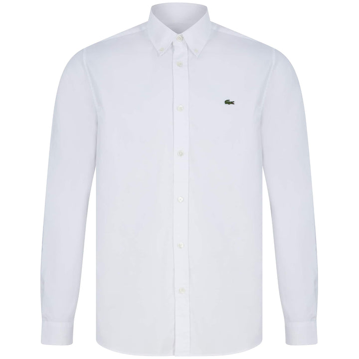 LACOSTE PREMIUM COTTON SHIRT CH2933-00 WHITE (001)