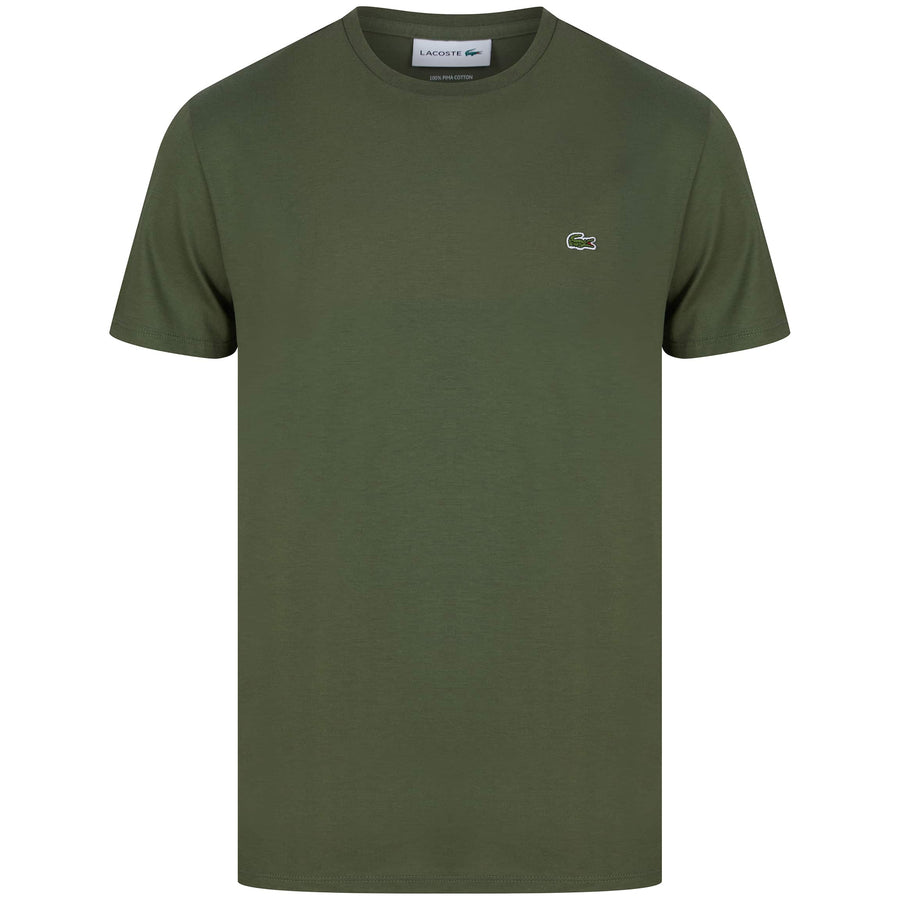 LACOSTE LOGO BRANDED T-SHIRT TH6709-00 AUCABA (XZD)