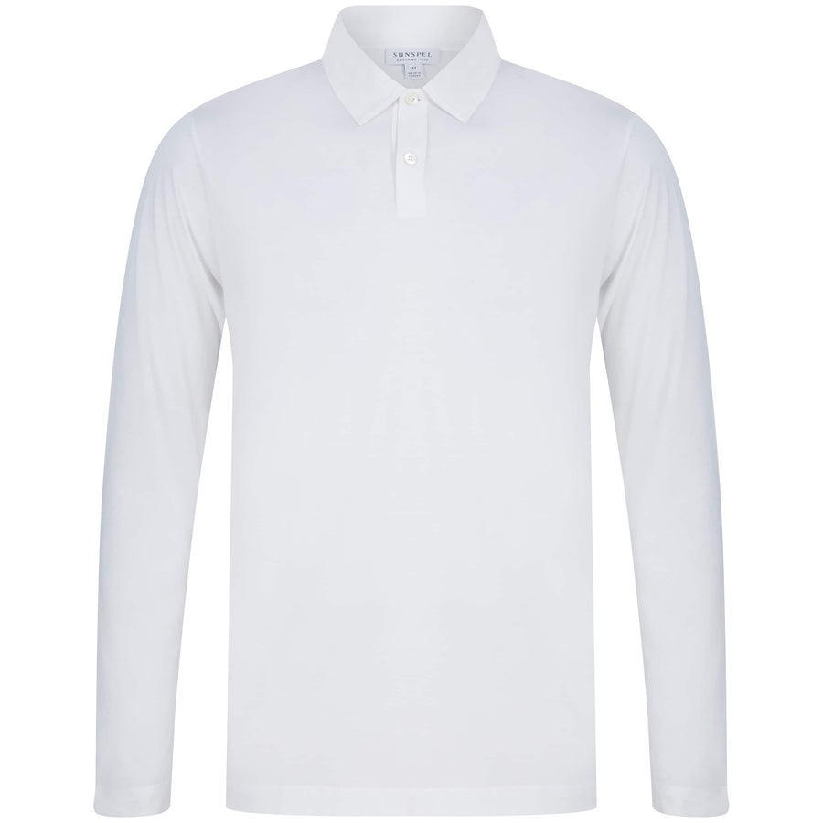 SUNSPEL JERSEY LOOP POLO MPOL1044 WHITE