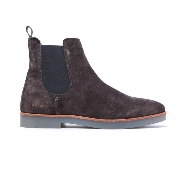 NUBIKK LOGAN SUEDE CHELSEA BOOT 21006802 DARK GREY