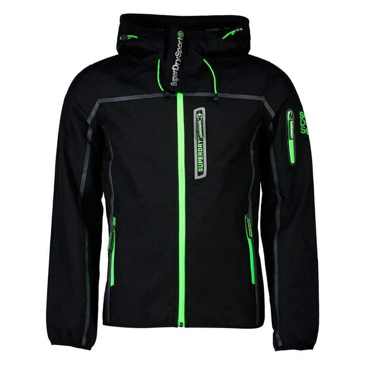 SUPERDRY SPORT WIND ATTACKER MS3001CQ BLACK/ACID LIME