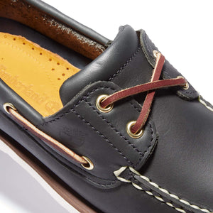 TIMBERLAND 2 EYE LACE UP BOAT SHOE 74036 NAVY