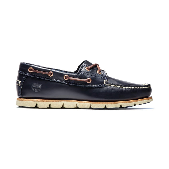 TIMBERLAND TIDELAND 2 EYE LACE UP BOAT SHOE A1BBU DARK INDIGO
