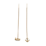 Anchor And Ship Earrings