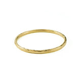 Super Skinny Golden Ring (hammered)